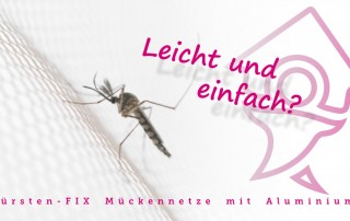 Castore - Bürsten-FIX Mückennetze