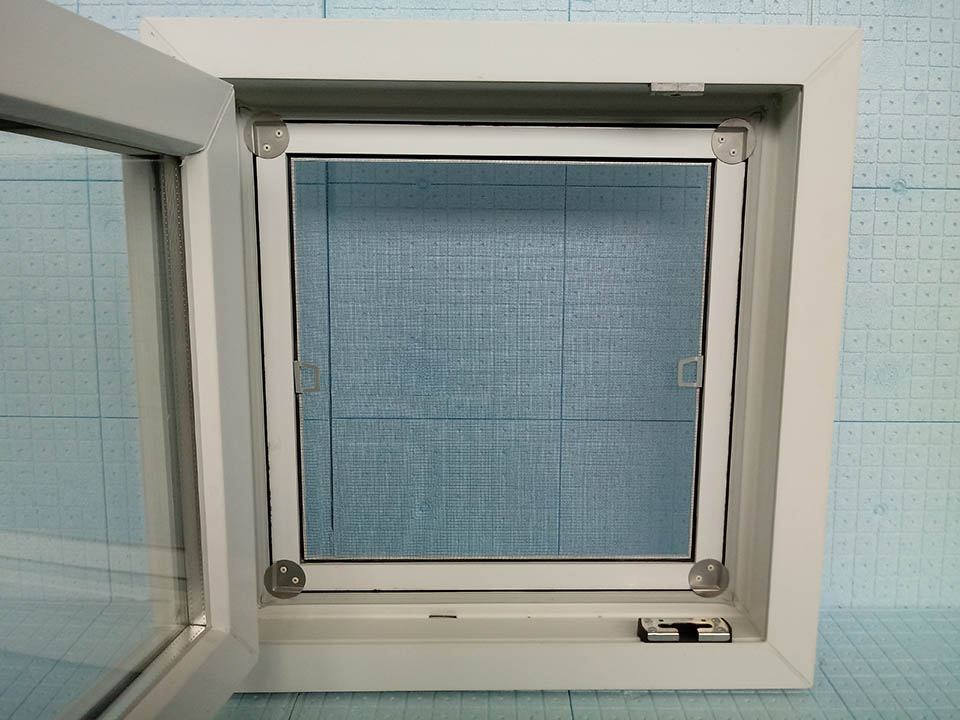 Castore - Bürsten-FIX Mückennetze mit Aluminiumrahmen - inner