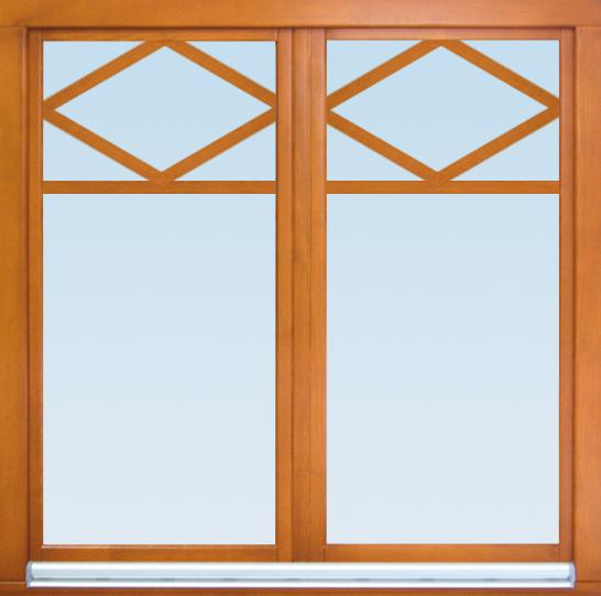Dekorative Fenster