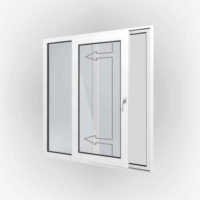 Öffnungsart Schiebefenster/Tür